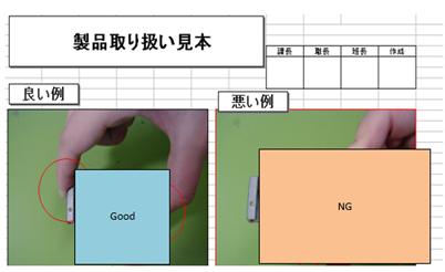 見える化  マンガ、画像を取り入れた作業手順書
