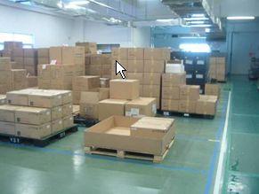 資材倉庫の定置管理 見える化