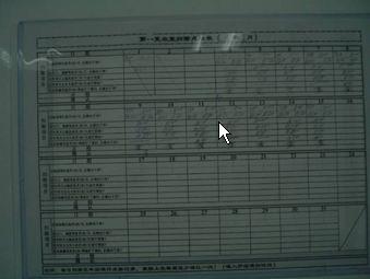 見える化 清掃管理記録表