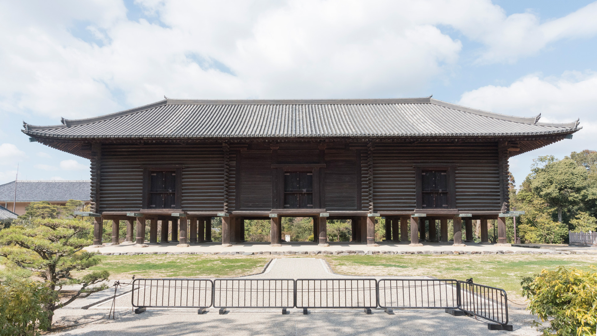 正倉院 倉庫