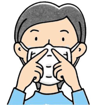 マスク 鼻の脇の隙間