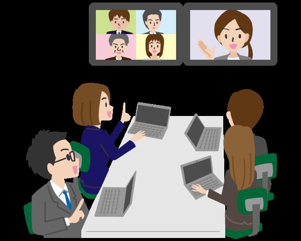 電子会議  ペーパーレス化の促進